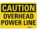 Caution Overhead Power Line