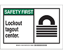 Safety First Lockout Tagout Center