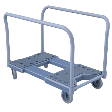 Load Securing Vertical Rail-Frame