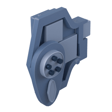 Mechanical Push Button with Thumb Turn