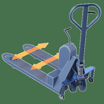 Adjustable Width Forks