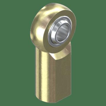 Steel with Self-Lubricating PTFE Race