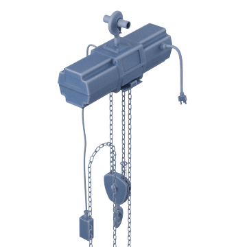 Medium-Duty Chain Hoists (H3)