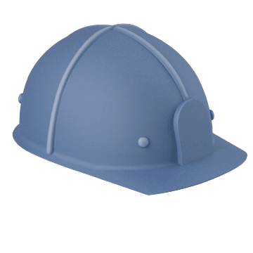 Cap Style Hard Hats for Low Clearance