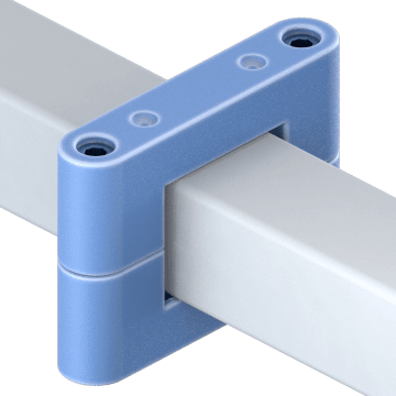 Clamps for Square Linear Rails