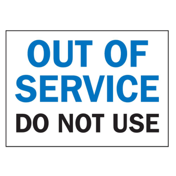 Out of Service Do Not Use
