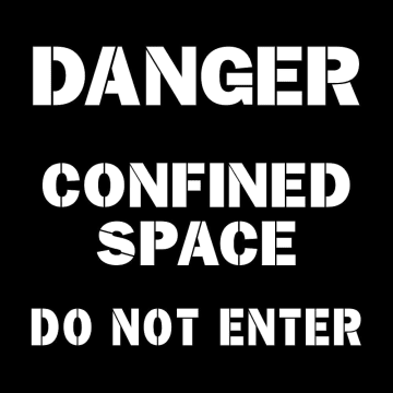 Confined Space Do Not Enter
