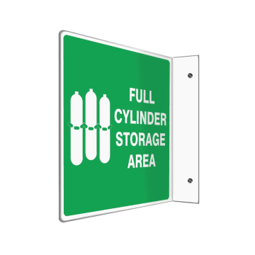 Full Cylinder Storage Area