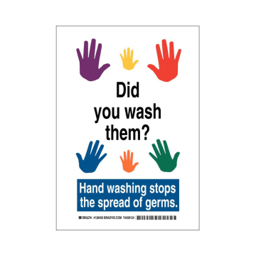 Did You Wash Them? Hand Washing Stops the Spread of Germs