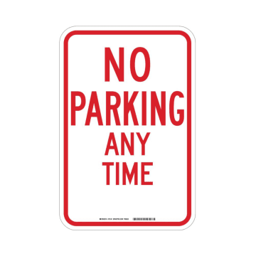 No Parking Any Time