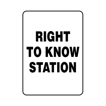 Right To Know Station