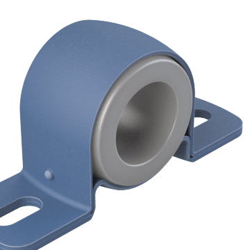 Mounted UHMWPE Sleeve Bearings for Washdown