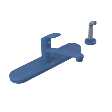 Single Handle Kitchen Faucets with Side Sprayer