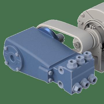 Belt-Driven for Electric Motors or Gasoline Engines