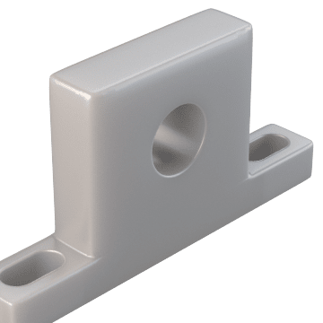Solid UHMWPE Sleeve Bearings for Washdown