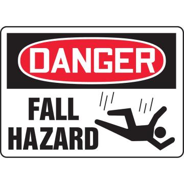 Danger Fall Hazard