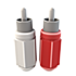 2-RCA (Red/White)